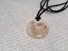 Butterflies Flowers Geo Jewelry Sun Shifters Color Changing Necklace Adjustable image 1
