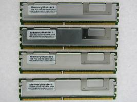 8GB  (4X2GB) FOR DELL POWEREDGE 2950 III M600 M605 R900 SC1430