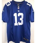 Odell Beckham Jr. New York Giants Blue Nike Youth Jersey Size XL - $21.77