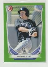 Trevor Story 2014 Bowman Green Refractor Serial # 74/ 75 - $6.19