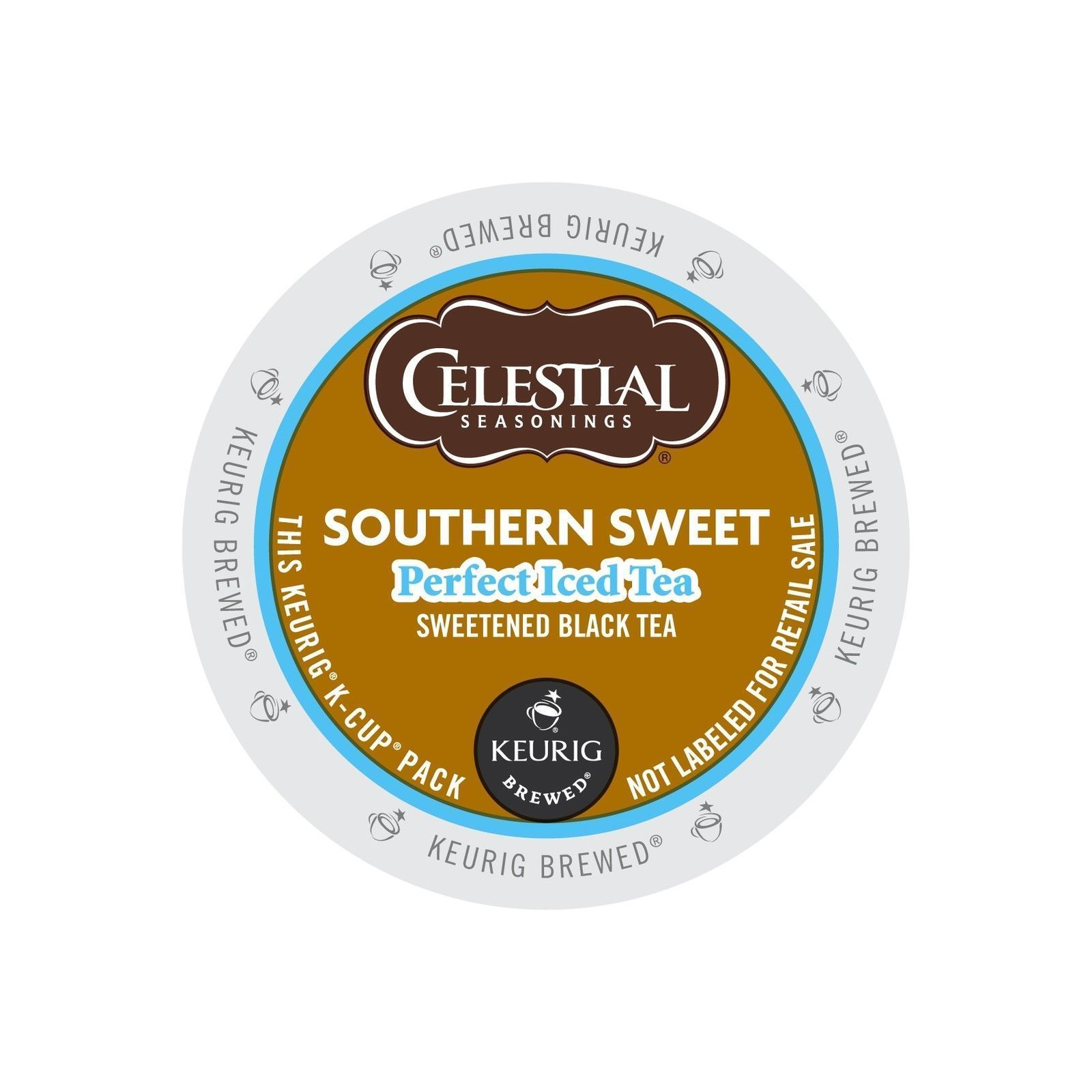 Celestial Seasonings Southern Sweet Perfect Iced Tea, 44 K cups, FREE SHIPPING  - $38.99