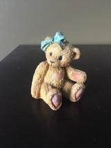Cherished Teddies 1991 JACKIE - Hugs & Kisses -- Bear Figurine - $6.35