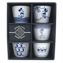 Made in Japan Disney Mickey 5 Cup bowl set for soba Sogo Inoguchi  - $92.07