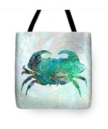 Tote bag All over print Design 41 Aqua turquois... - $29.99 - $35.99