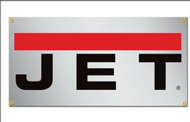 Jet Tools Vinyl Banner 2'x4' 13 OZ. Garage or trade shows Ready Hang Equipment image 2