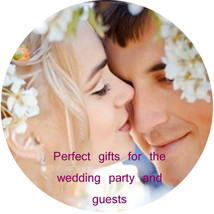 24 CUSTOM coasters personalized with your photo neoprene weddings party ... - $41.83