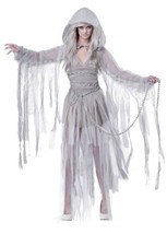 Haunting Beauty Halloween Costume Adult Womans Large 10 - 12 Ghost - $63.79