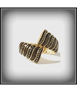 RARE Lia Sophia scalloped hinged cuff bracelet from Red Carpet Collectio... - $64.35
