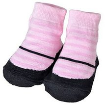 Baby Socks Lovely Cotton Summer Infant Socks 0-12 Months(Pink Striped)