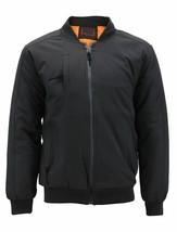Men's Multi Pocket Water Resistant Industrial Uniform Quilted Bomber Work Jacket image 2