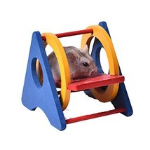 Panda Legends [L] Hamster Wooden Toy Hamsters DIY Habitat Pet Supplies f... - $11.67