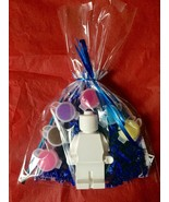 """Lego man party favors to paint.DIY.creative 4"""" tall, school .Class.Kids Birthday - $3.49"""