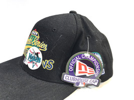 fun MARLINS black baseball cap 1997 World Series Champions NEW! - $24.70