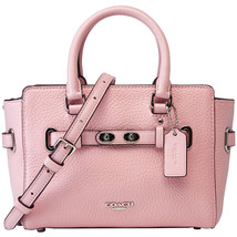 Nwt Coach F37635 Mini Blake Carry All In Bubble Leather Crossbody Soft Pink $375 - $169.99