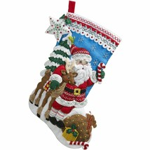 Bucilla 'Nordic Santa' Felt Stocking Stitchery Kit, 86647 - $26.99