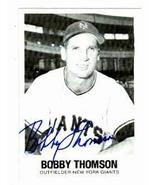 Bobby Thomson autographed baseball card (New York Giants) 1977 TCMA #39 ... - $22.00