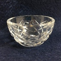 """Waterford Clear Crystal Lismore Open Sugar Bowl Signed 3"""" diameter x 1 3... - $33.81"""