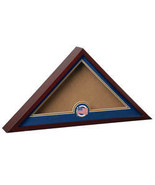 Flag Display Case with Medallion-AmericanFlag - $118.99