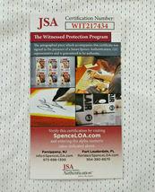 DAN MARINO / AUTOGRAPHED MIAMI DOLPHINS WHITE CUSTOM FOOTBALL JERSEY / JSA COA image 7
