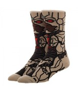 Justice League Cyborg DC Comics Adult 360 Crew Socks - $12.00