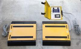 Truck Axle Scale 60,000 lbs x 10 lb Portable Truck Axle Scale USA Made I... - $3,460.05