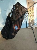 Callaway Izzo Carry Stand Golf Bag Black NASA Huntsville ARK Logo - $85.00