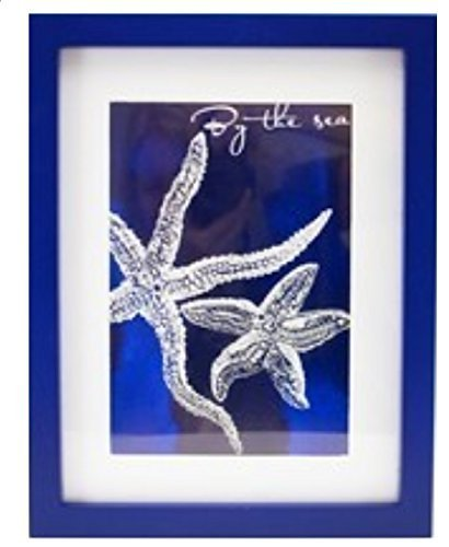 Framed Sealife Print, By the Sea (Starfish)
