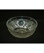 Sandwich Clear Anchor Hocking Fruit Dessert Berry Bowl Clear Glassware 40s - 60s - $12.86