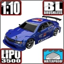 Redcat Lightning EPX PRO Car 1/10 Scale Brushless Electric RC RTR Blue Car - $4.411,41 MXN