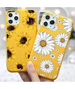 Summer Flowers Case For Samsung Cute Yellow Chamomile Cover Back Shell  - $5.99