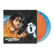 John Carpenters Escape From New York Exclusive Orange & Blue Marble 2x V... - $99.99
