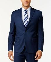 Michael Kors Blue Classic Fit Solid Suit Separate Coat  42 Long #589 - $69.99