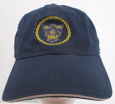 US Naval Academy 1963 CAE USNA Navy Baseball Hat Strapback Cap Nissun Cap - $15.98
