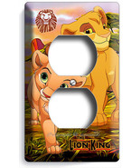 LION KING BABY SIMBA AND NALA OUTLET WALL PLATE COVER INFANT NURSERY ROO... - $9.99