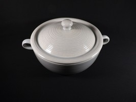 Franciscan CHINA- REFLECTIONS-BLUE/GREY 2 Qt Round Covered Casserole Ex Cond - $71.99