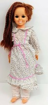 "Vintage 1969 Ideal 18"" Crissy Grow Hair Doll Red with Braids Dress Bloomers - $37.01"