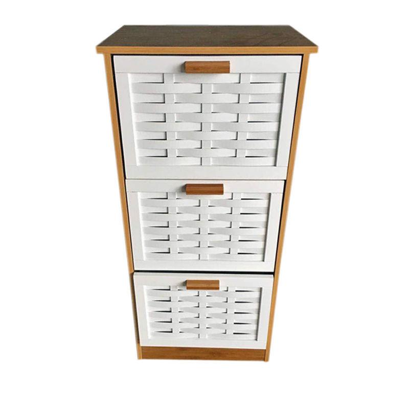 Used, 3 Drawer Cabinet Stand Storage Cupboard Furniture  Bathroom Organisation Caddies for sale  USA