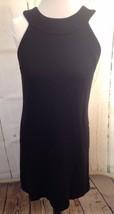 Inc WOMENS MISSES Black Rayon/Nylon/Spandex Sheath DRESS ~SZ 2 LBD - $15.98