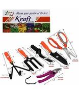 Seeds 6 in 1 Garden Tool Set Gardening Tools Gift Kit Non-Slip Handle fr... - £19.75 GBP