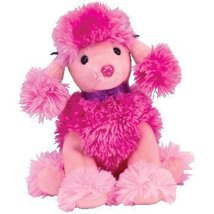 TY Beanie Baby Ooh-La-La Pink Poodle Plush Toy Mint with All Tags - $17.99