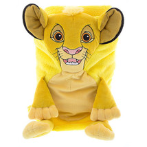 disney parks simba character cuddle plush blanket new with tags - $52.29
