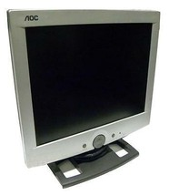 "AOC LM520 15"" LCD COMPUTER MONITOR - SOLD AS IS - $44.99"