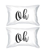 Oh Lovely Letter Printed Unique Graphic Design Standard Pillow Case - $30.99