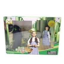 Wizard of Oz Dorothy & Wicked Witch Action Figure Dolls Mego Limited Edi... - $22.05