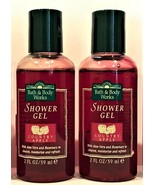 Bath and Body Works Country Apple Shower Gel - Lot of 2 - 4 oz total - $11.98