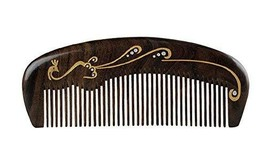 Natural Wooden Comb/Best Choice Of Gift Giving/Chinese Style(Chacate Preto) - $25.55