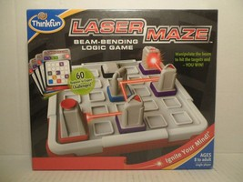 Laser Maze Logic Game w/ Real Lazer 60 challenges Beginner to Expert BRAND NEW! - $34.54
