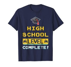 Brother Shirts - High School Video Gamer Level Complete TShirt For Stude... - $19.95+