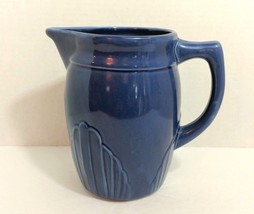 At Home America Serving Pitcher Navy Blue Heirloom Pantry Collection 6 1... - $14.99