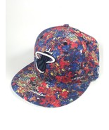 Miami Heat Liberty London NBA New Era 59Fifty - Floral SIZE 7 1/4 Fitted Cap Hat - $44.22